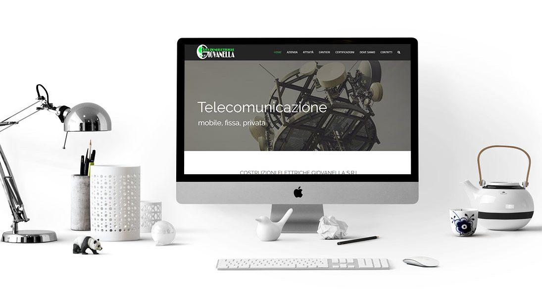 Realizzazione sito internet Giovanella Costruzioni